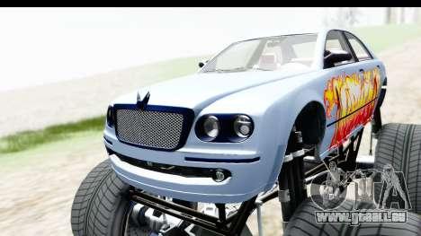 GTA 5 Enus Cognoscenti XL pour GTA San Andreas vue intérieure
