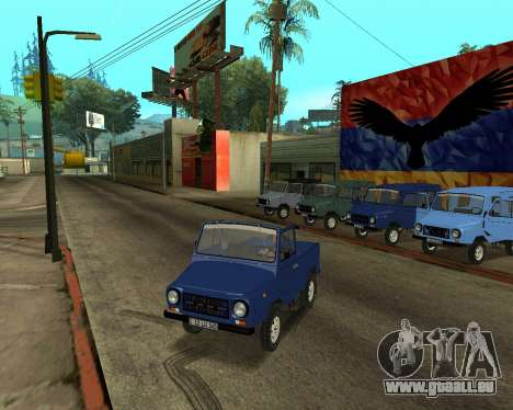 Luaz 969 Armenian für GTA San Andreas Motor
