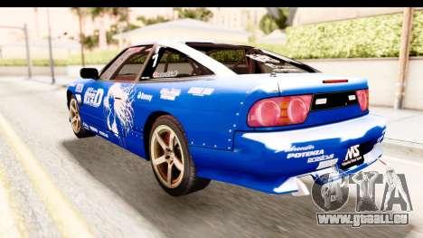 Nissan Sileighty 2015 D1GP für GTA San Andreas linke Ansicht
