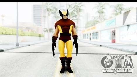 Marvel Heroes - Wolverine Brown pour GTA San Andreas deuxième écran