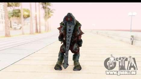 DOOM 3 - Cyberdemon pour GTA San Andreas troisième écran