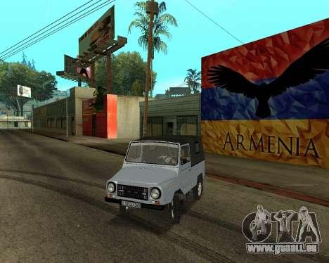 Luaz 969 Armenian pour GTA San Andreas