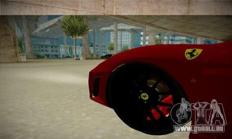 Ferrari F430 Spider pour GTA San Andreas vue arrière