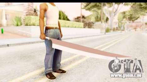 Bleach - Ichigo Weapon pour GTA San Andreas