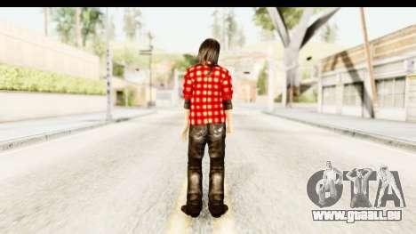 Twilight - Bella pour GTA San Andreas troisième écran