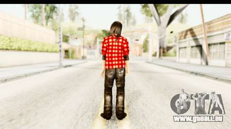 Twilight - Bella für GTA San Andreas dritten Screenshot