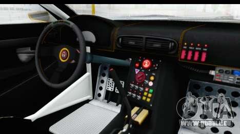GTA 5 Emperor ETR1 v2 SA Lights pour GTA San Andreas vue intérieure