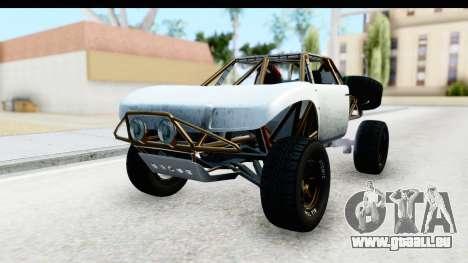 GTA 5 Trophy Truck SA Lights PJ für GTA San Andreas rechten Ansicht