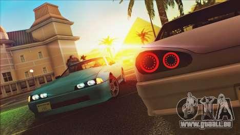 Elegy Drophead pour GTA San Andreas laissé vue