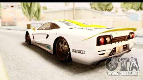 GTA 5 Progen Tyrus SA Style pour GTA San Andreas roue