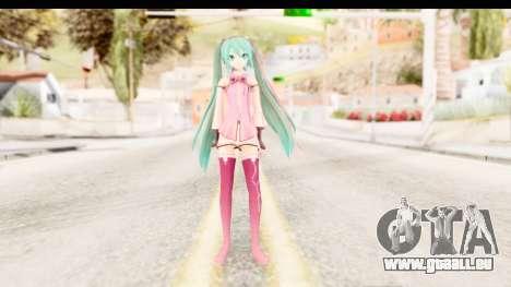 Project Diva F - Hatsune Miku Vocal Star Remade pour GTA San Andreas deuxième écran