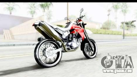Yamaha XT 660R pour GTA San Andreas laissé vue