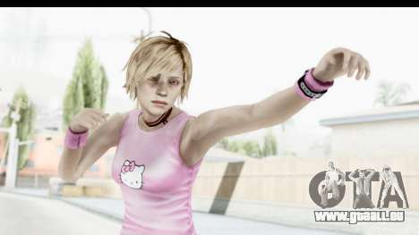 Silent Hill 3 - Heather Sporty Light Pink HK für GTA San Andreas