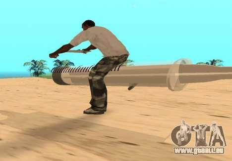 Seringue pour GTA San Andreas vue de droite