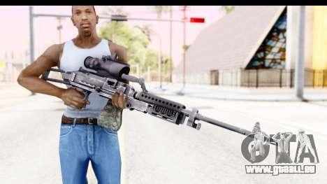 M240 FSK No Bipod pour GTA San Andreas troisième écran