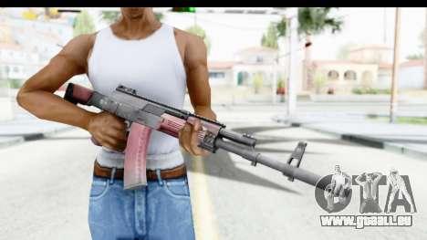 Kalashnikov AK-12 pour GTA San Andreas troisième écran