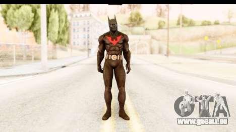 Batman Arkham City Batman Beyond für GTA San Andreas zweiten Screenshot