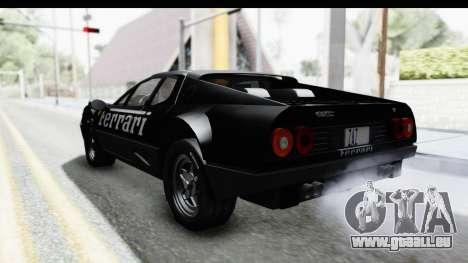 Ferrari 512 GT4 BB 1976 pour GTA San Andreas moteur