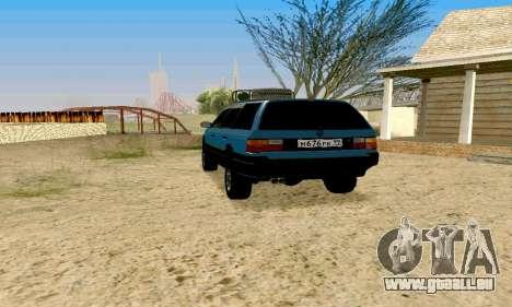 Volkswagen B3 pour GTA San Andreas laissé vue
