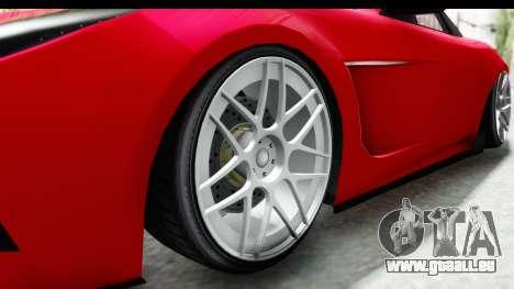 GTA 5 Ocelot Lynx SA Lights für GTA San Andreas Rückansicht