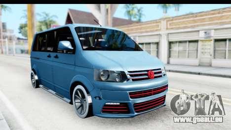 Volkswagen Caravelle für GTA San Andreas rechten Ansicht