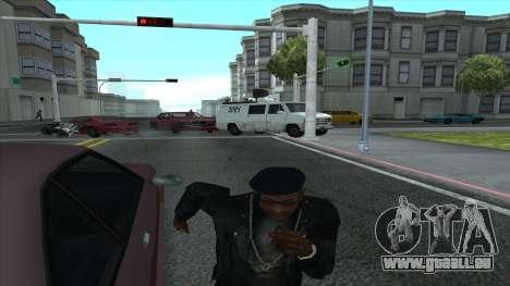 Newsvan Follow You pour GTA San Andreas troisième écran