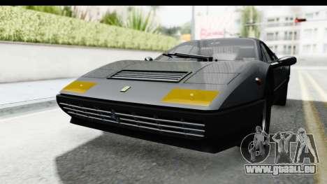 Ferrari 512 GT4 BB 1976 pour GTA San Andreas vue de droite