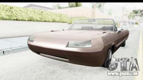 Savanna Daytona pour GTA San Andreas