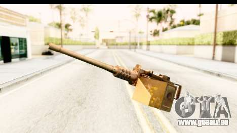 M2 Browning pour GTA San Andreas