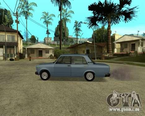 VAZ 2107 Armenian für GTA San Andreas Innenansicht