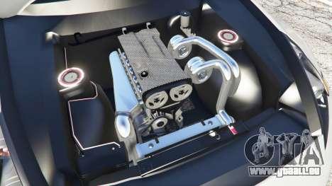 GTA 5 Nissan 370Z Nismo Z34 2016 [replace] droite vue latérale