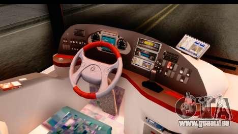 Mercedes-Benz Travego pour GTA San Andreas vue intérieure