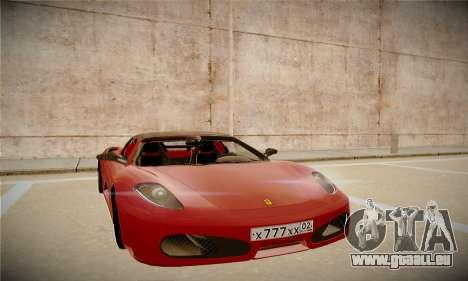 Ferrari F430 Spider pour GTA San Andreas