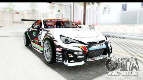 D1GP Toyota 86 2015 DRIVE für GTA San Andreas