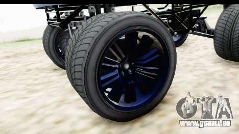 GTA 5 Enus Cognoscenti XL für GTA San Andreas Rückansicht