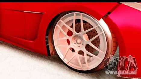 GTA 5 Ocelot Lynx IVF für GTA San Andreas Rückansicht