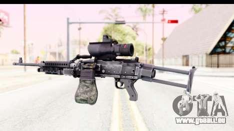 M240 FSK No Bipod pour GTA San Andreas deuxième écran