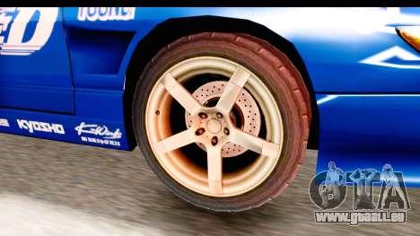 Nissan Sileighty 2015 D1GP für GTA San Andreas Rückansicht