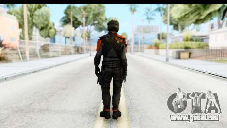 Homefront The Revolution - KPA v4 Black für GTA San Andreas dritten Screenshot