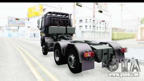 Tatra Phoenix 6x2 Agro Truck v1.0 pour GTA San Andreas sur la vue arrière gauche