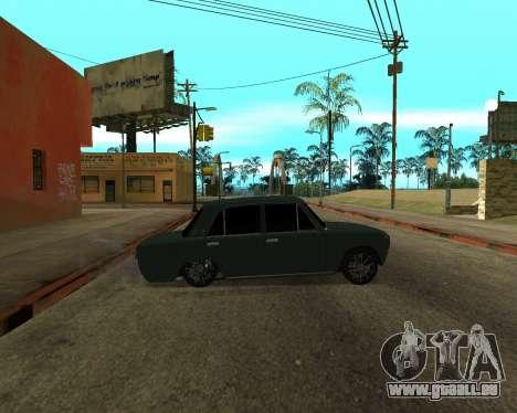 VAZ 2101 Armenian pour GTA San Andreas vue intérieure