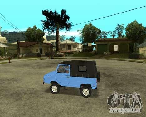 Luaz 969 Armenian pour GTA San Andreas vue arrière