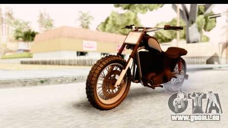GTA 5 Western Cliffhanger Stock IVF pour GTA San Andreas