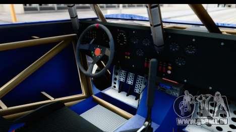 GTA 5 Trophy Truck IVF PJ pour GTA San Andreas vue intérieure