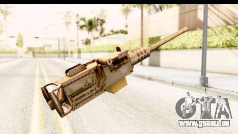 M2 Browning für GTA San Andreas zweiten Screenshot