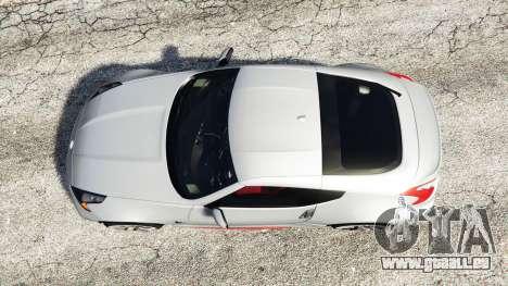 GTA 5 Nissan 370Z Nismo Z34 2016 [replace] vue arrière