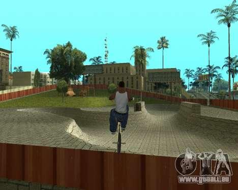 New HD Glen Park für GTA San Andreas zweiten Screenshot