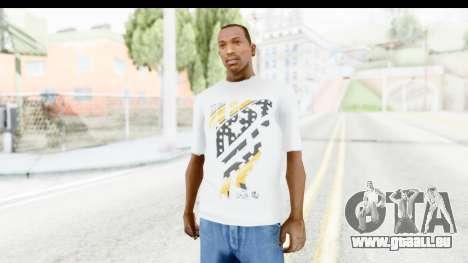 Nike Kyrie Notebook T-Shirt für GTA San Andreas