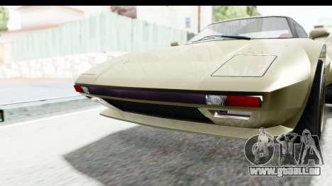 GTA 5 Lampadati Tropos Rallye IVF für GTA San Andreas obere Ansicht