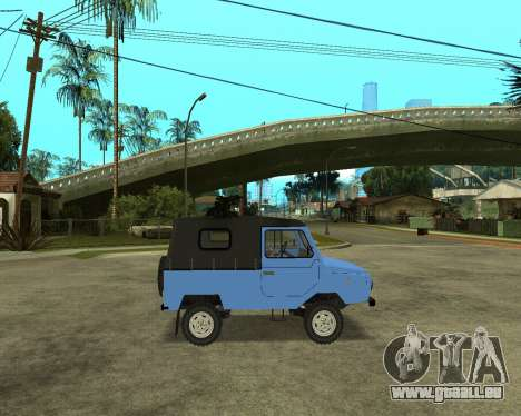 Luaz 969 Armenian pour GTA San Andreas vue de droite